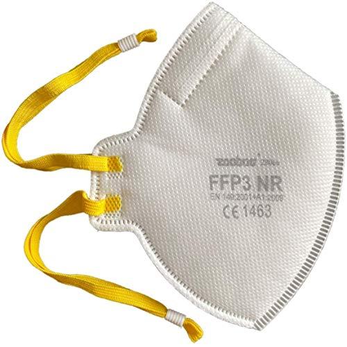20x Respiratore FFP3 DreamCan maschera antipolvere Maschera di protezione maschera antipolvere - 99% filtro - senza valvola - può essere utilizzato ovunque