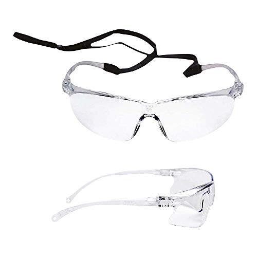 3M™ Tora™Occhiali di protezione, lente trasparente in PC, AS/AF 71501-00001M