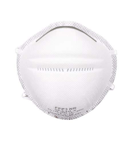 6x Respiratore FFP3 Maschera protettiva DreamCan antipolvere massima efficienza di filtrazione 99% filtro - senza valvola - può essere utilizzata ovunque - confezionata singolarmente