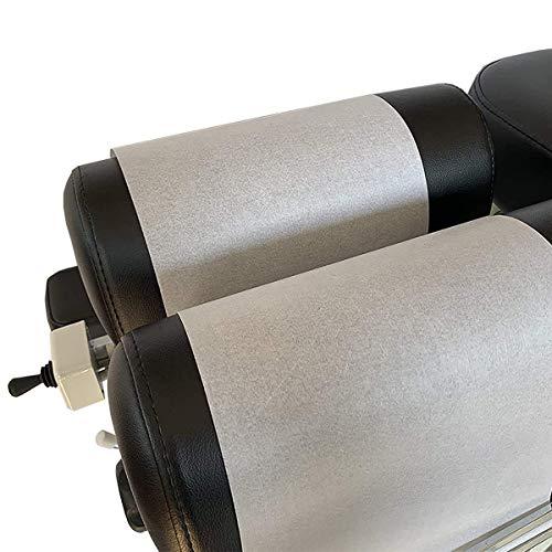 9 Rotoli di carta per lettino chiropratico larghezza 20 cm, lunghezza 70 m - qualità axion