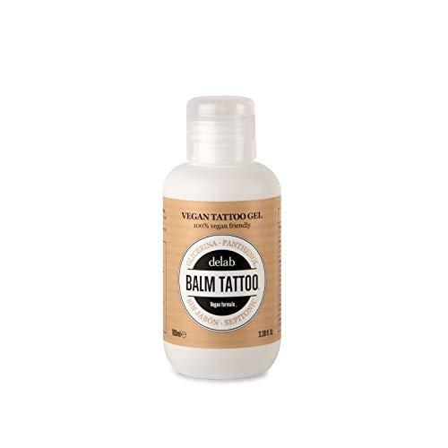 BALM TATTOO - Gel Detergente per Tatuaggi - Syndet Gel Tattoo Vegano - Tattoo Aftercare - Formula Idratante - Per Pelli Tatuate Sensibili - Da sollievo dal Prurito - Idrata la pelle - 100 ml
