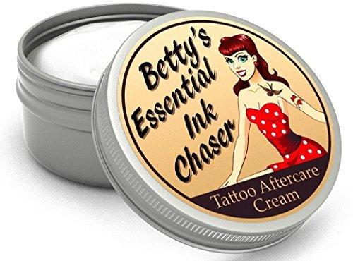 Betty's Essential Ink Chaser Crema Post Tatuaggio Fatto Con Ingredienti Naturali E Biologici 50ml
