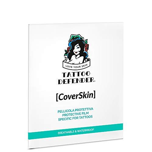 CoverSkin TATTOO DEFENDER Pellicola Protettiva Tatuaggi Unisex 4pz(10cmX12cm) Pellicola