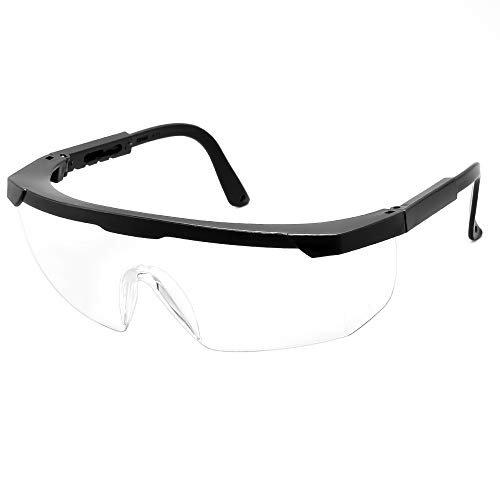 Cyxus Occhiali di sicurezza, occhiali antiappannamento Occhiali di protezione per ambienti di lavoro sovra-specifiche per edilizia, laboratorio, chimica, personale o professionale