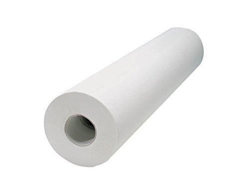 Farmac Zabban 2200770000 Rotoli per Lettino Rulli in Carta Bianca 70mt x 60 cm a Doppio Velo, 6 pezzi