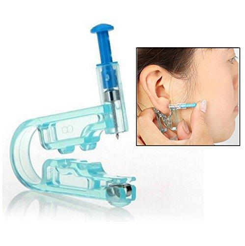 Gearmax® Pistola Ferro Piercing All'orecchio Corpo Ombelico + 48 Paia di borchie
