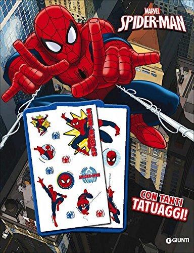 Il libro con tatuaggi. Spider-Man. Super album. Ediz. illustrata