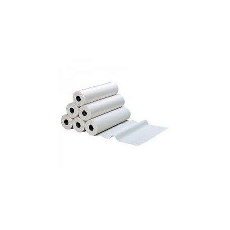Lenzuolino medico standard –pura ovatta bianca 2x 18g/m²–Cartone da 6rotoli–150Strappi–Dimensione 50x 38cm–ft10066