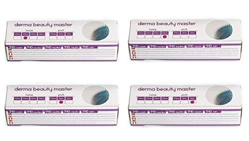 Lunata Dermaroller SET (540x aghi in acciaio inossidabile), Derma Roller per rassodare la pelle, Prodotto Medicinale Classe I con Marcatura CE e Rapporto di Prova