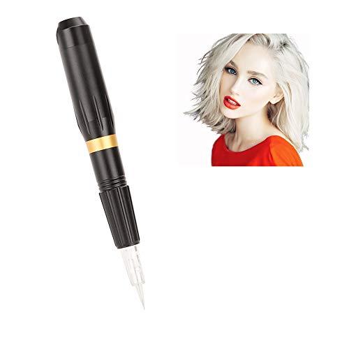 Macchina permanente per sopracciglia, strumento permanente elettrico multifunzionale per trucco della penna del sopracciglio del tatuaggio(EU)