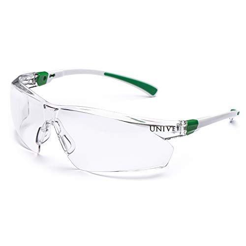 Occhiali protettivi modello 506 UP con lente clear, rivestimento antigraffio e antiappannamento