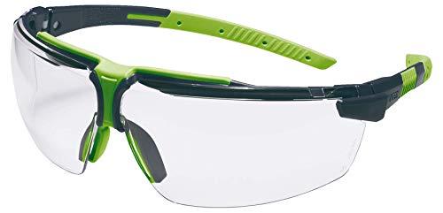 Occhiali Protettivi uvex i-3 | Lenti PC Incolore | Protezione UV 400 | NF EN 166 170 | Lente Esterna Antigraffio | Lente Interna con Funzione Antiappannante Permanente | Ultraleggeri