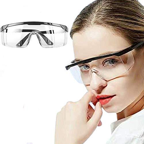 Occhiali Protettivi,Occhiali Protettivi e Igienici di Sicurezza Da Lavoro Occhiali Sicurezza per Lavori in Officina, Anti Graffio