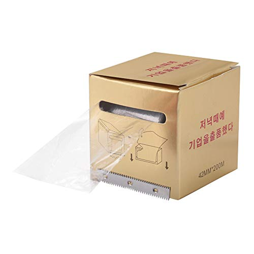 Pellicola di protezione per tatuaggio – estensibile pellicola per sopracciglia e labbro, tatuaggio in plastica, pellicola per il trucco delle labbra delle sopracciglia (pellicola per le labbra)