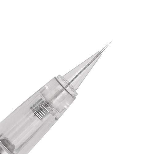 Pinkiou 10x microblading aghi per tatuaggio monouso per macchinetta per sopracciglia (1R)