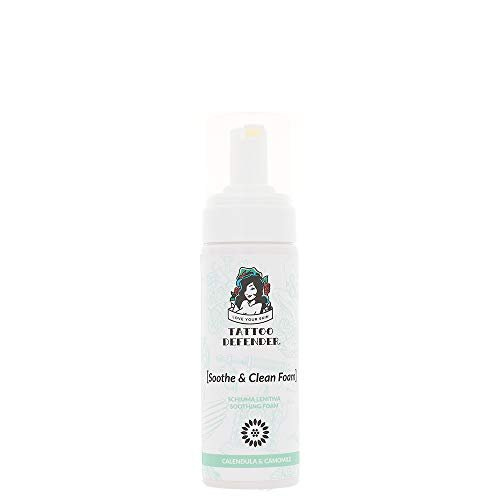 Soothe & Clean Foam TATTOO DEFENDER Mousse Detergente Lenitiva Unisex 150 ml Flacone