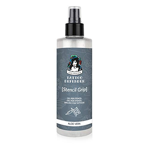Tattoo Defender STENCIL GRIP 200ml Gel per il trasferimento dello stencil super resistente MADE IN ITALY
