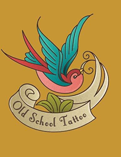 Tattoo Designs Sketchbook: Tattoo Flash - Old School Tattoo Designs