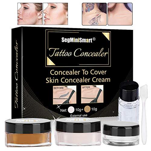 Tatuaggio correttore, correttore per coprire tatuaggi, impermeabile, set correttore per tatuaggi, cicatrici vitiligo, correttore impermeabile