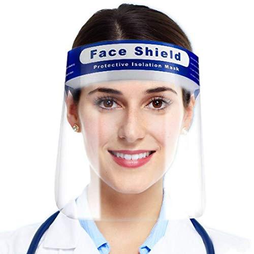 Tegcare, schermo protettivo per il viso, 5 pezzi (togliere la pellicola protettiva prima dell'uso), 240 g