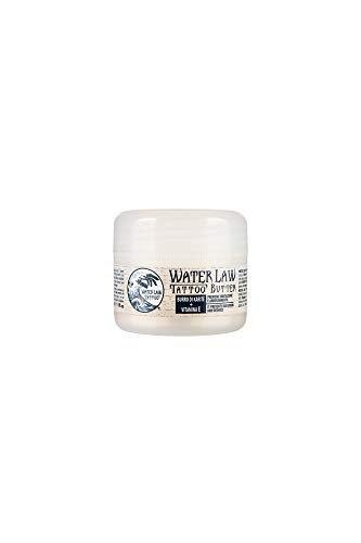 Water Law Tattoo - TATTOO BUTTER - Trattamento Lenitivo ed Idratante Specifico per Tatuaggi - con Burro di Karitè, Olio di Mandorle Dolci e Vitamina E - 30 ml - MADE IN ITALY